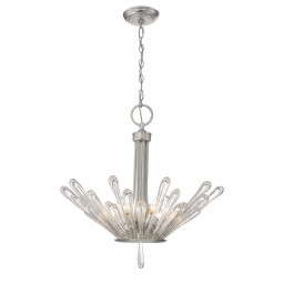 Contemporary 6 light Chandelier