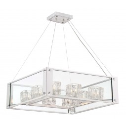 8 Light Contemporary Chandelier